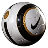 Nike Premier Team Soccer Ball, White/Black/Gold - Size 5