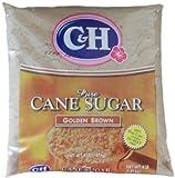 C&H Pure Cane Sugar - Golden Brown -(4 Pound Bag)