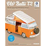 VW Bulli T2: Build Your Own VW Type 2 Camper Van (Scale 1:18)