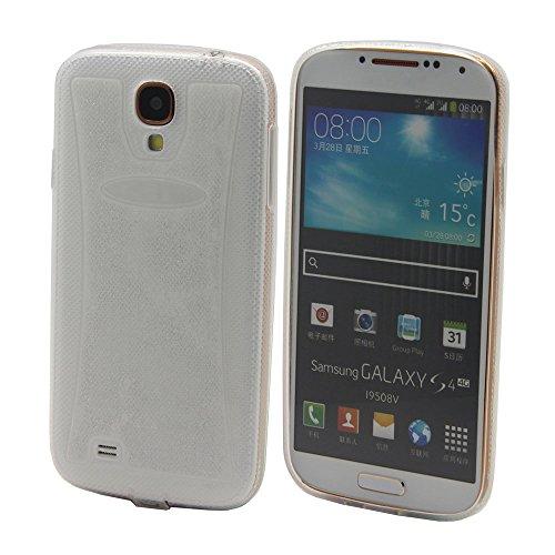 elecdorith Ultra Slim TPU Case Silikon Tasche Schutzhülle für Samsung Galaxy S4 i9500, Samsung Galaxy S4 Hülle (Samsung Galaxy S4, transparent)