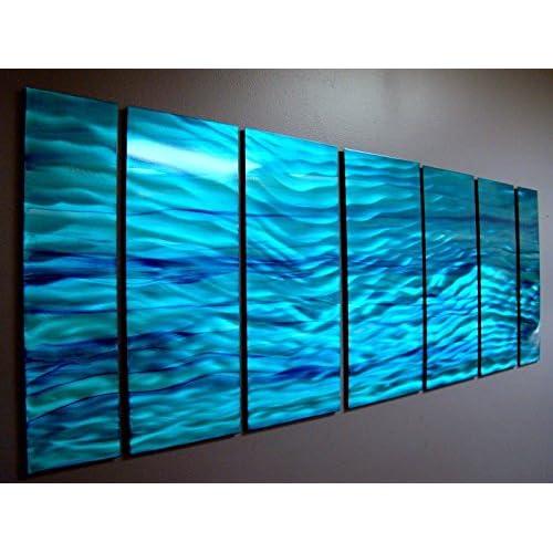 Aqua Blue Wave
