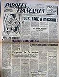 PAROLES FRANCAISES
