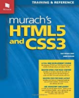 Murach's HTML5 and CSS3 Front Cover