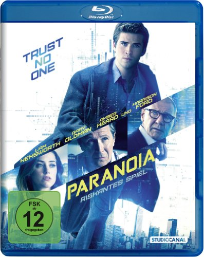 Paranoia - Riskantes Spiel [Blu-ray]