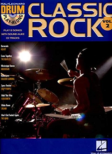 Classic Rock (Book & CD): Drum Play-Along Volume 2: v. 2