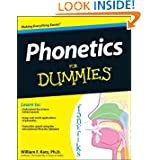 Phonetics For Dummies (For Dummies (Language & Literature))