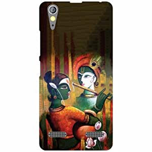 Lenovo A6000 Plus Back Cover - Abstract Designer Cases