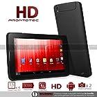 ProntoTec 7'' Quad Core Dual SIM Unlocked PhoneTab K2 Android 4.4 Tablet PC, Dual Camera, HD 1024x600, 512MB+8GB, Google Play Pre-loaded, 3G+WI-FI Supported - Black