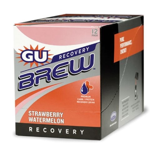 Gu Brew Recovery 12 Pack Strawberry Watermelon 12 Pack