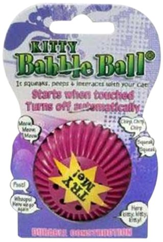 Image Pet Qwerks CPQ00035 Kitty Babble Ball