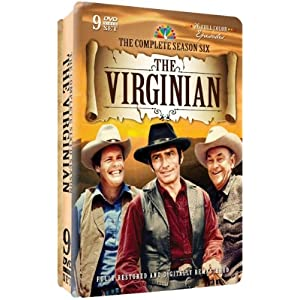 The Virginian - Complete Season Six - 9 dvd's in Collectible Embossed Tin
