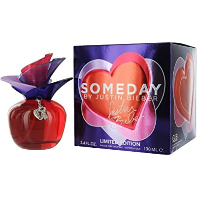 Justin Bieber Someday Limited Edition Eau de Parfum Spray for Women, 3.4 Ounce