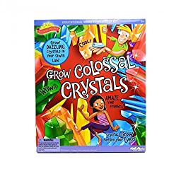 Overstock.com Scientific Explorers Grow Colossal Crystals Kit