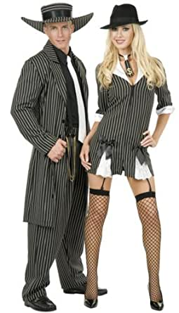 Zoot Suit Adult Costume White - Plus Size