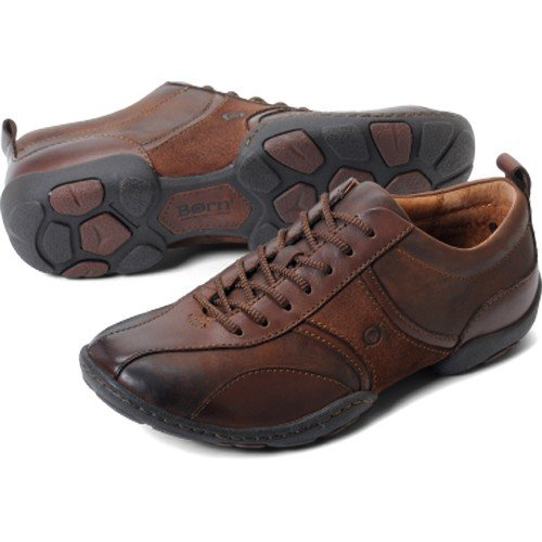Born Men's Bolt Fashion Oxford Shoe (10.5, Chestnut)