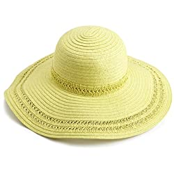 collection eighteen Women's Spring Solid Floppy Hat