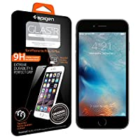 iPhone 6s Plus Screen Protector, Spigen® iPhone 6 Plus / 6s Plus [3D Touch Compatible- Tempered Glass] Most Durable [Easy-Install Wings] Rounded Edge Glass Screen Protector [Life Warranty] - SGP11634 by Spigen