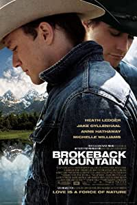 NMR/Aquarius Brokeback Mountain One Sheet Poster
