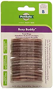PetSafe Busy Buddy Bacon Flavored Rings, Size B