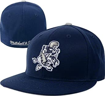 Amazon.com : Mitchell & Ness Dallas Cowboys Throwback Fitted Hat 8 1/4