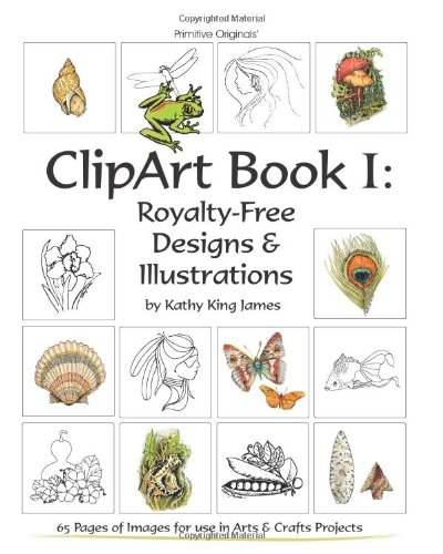 Clipart Book I: Royalty-Free Designs & Illustrations