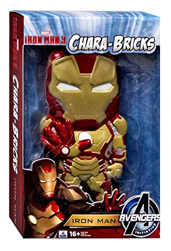 "Marvel Iron Man 3 Chara-Bricks Iron Man Exclusive 7"" Viny Figure"