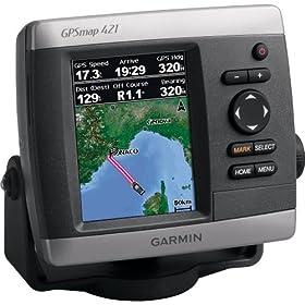 Garmin GPSMAP 421 GPS Chartplotter