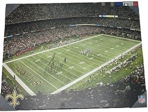 Drew Brees Autographed Signed New Orleans Saints Louisiana Superdome Canvas Print,... by Southwestconnection-Memorabilia