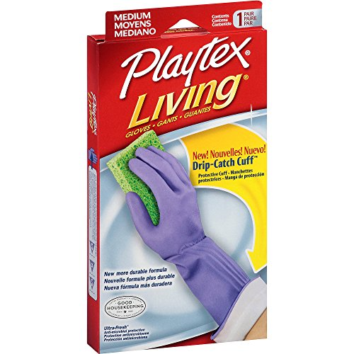 Playtex Gloves Playtex Living Medium (3-Pack) (Rubber Gloves For Dishwashing compare prices)