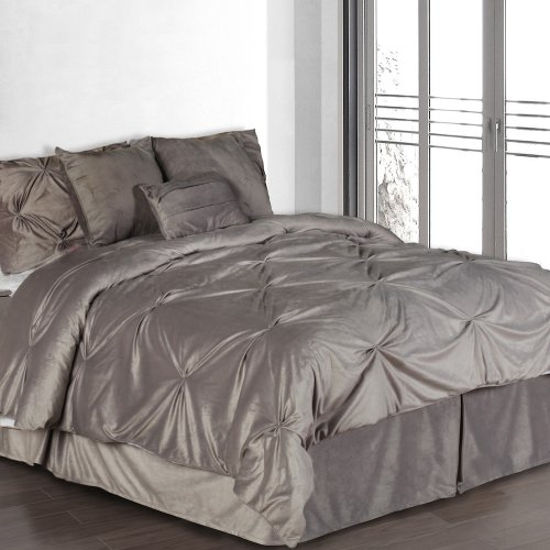 Silver Comforter Set
