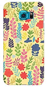 Kasemantra Flower Bloom Case For Samsung Galaxy S6