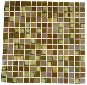 Summer Wheat 3/4X3/4 Glass Tile