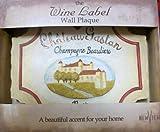 Plaque Wine Label Chateau Gastan Champagne Beaulieu Kitchen Wall Decor