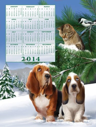 Look Out Below Jigsaw Puzzle & 2014 Calendar - 1