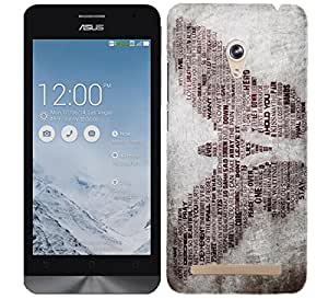 WOW Printed Designer Mobile Case Back Cover For Asus Zenfone 6