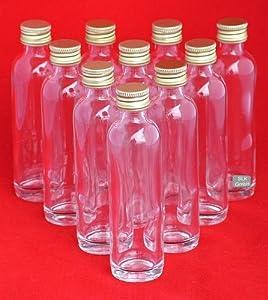 20 ml oder 40 ml leere glasflaschen mini miniatur flaschen. Black Bedroom Furniture Sets. Home Design Ideas