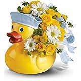 Teleflora's Ducky Delight - Boy - New Baby Flowers