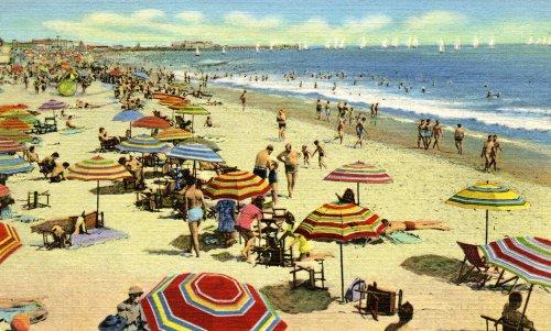 Santa Monica Sunning - Fine-Art Gicl??e Photographic