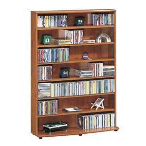 sauder inglewood multimedia dvd cd storage tower home kitchen. Black Bedroom Furniture Sets. Home Design Ideas
