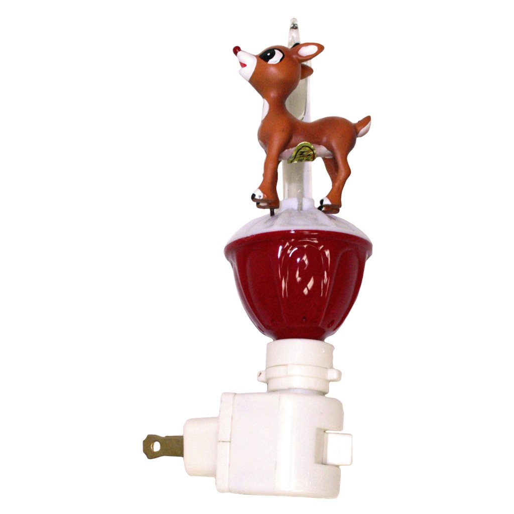 Reindeer Bubble Light Night Light