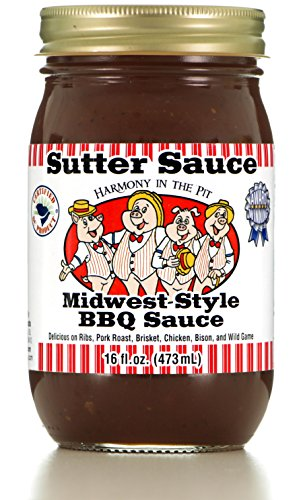 Sutter Sauce Midwest-Style BBQ Sauce