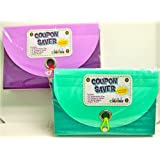 Coupon Organizer and Saver, 15 Expandable Pockets ~ Just For Laughs