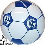 Schalke Sound Spardose Fussball