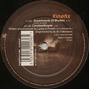 Kinetix / Experiments Of Rhythm