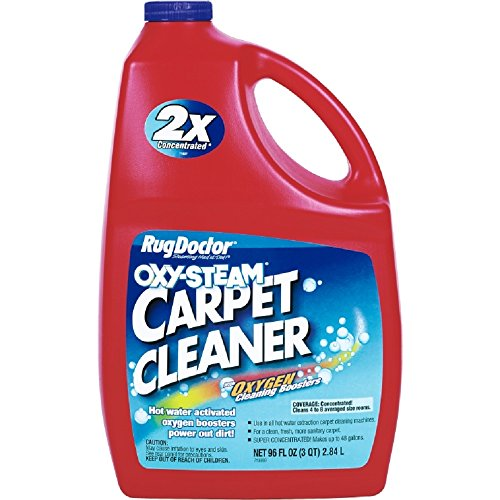 RugDoctor Oxy-Steam Carpet Cleaner with Oxygen Cleaning Boosters - 96 oz (Rug Doctor 96 compare prices)