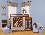 Rockstar 4PC Crib Bedding Set From Decorators Furniture Market