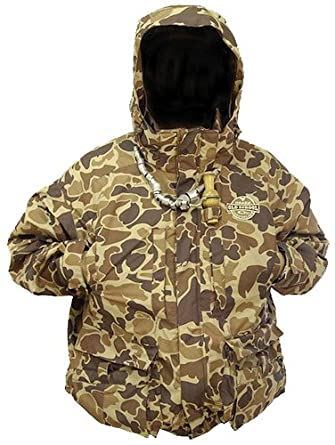 Drake Waterfowl Old School Camouflage LST 4 in 1 Wader Coat - XX-Large