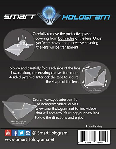 SmartHologram-SHCEL01-Universal-3D-Projection-Pyramid-for-Android-iOS-All-SmartPhones