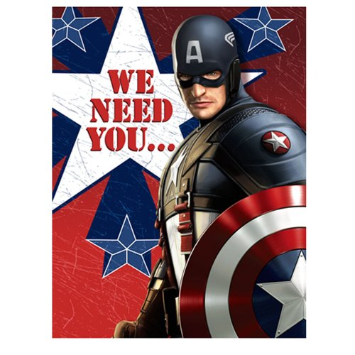 Captain America  Invitations Party Accessory Picture