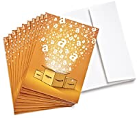 Amazon.com $25 Gift Cards - 10-pack with Greeting Cards (Classic)